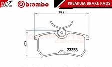 BREMBO GENUINE ORIGINAL PREMIUM BRAKE PADS PAD SET REAR AXLE P24047