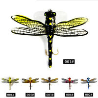 Dragonfly Dry Flies Insect Fly Fishing Lure Trout Artificial Bait Hard Lure  HF