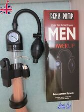 Power Penis Enlarger Pump Impotence & Masturbation Device vibrating male sex SK1