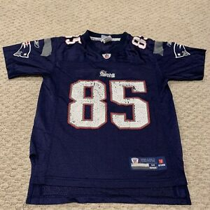 Chad Ochocinco Johnson New England Patriots Reebok Jersey YOUTH MEDIUM 10-12