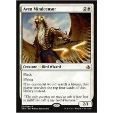 AVEN MINDCENSOR Amonkhet MTG White Creature — Bird Wizard Rare