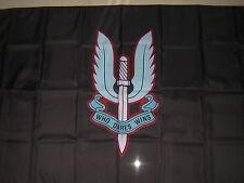 British Empire Flag Rhodesian Special Air Service Rhodesia SAS Black Ensign 3X5