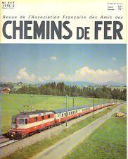 revue AFAC voiture clim Suisse,chemin de fer Europe,loco Re 6/6,courant 1500V