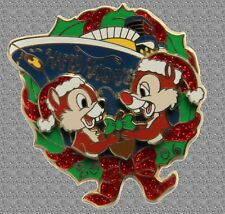 Chip & Dale Dcl Pin Happy Holidays 2006 Disney Le 750