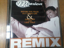 Monica Before You Walk Out Of My Life / Like This and That 6 mixes, EX nice