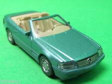 1:87 Wiking 014203 MB 500 SL Cabrio offen beryll metallic Blitzversand DHL-Paket
