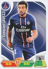 LAVEZZI ARGENTINA PSG Hebei China Fortune FC CARDS ADRENALYN PANINI FOOT 2013