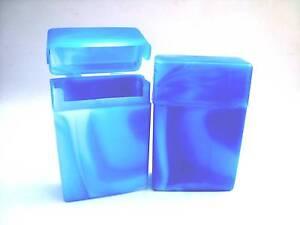 """Zig. - Etui """" CORA """" passend für 1 Schachtel (19 Stück) , Hellblau, Kunststoff"""