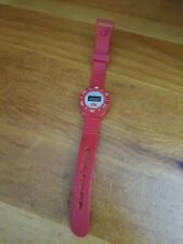 Vintage Burger King Red Rubber Sports Watch