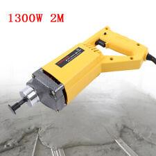 1300W HandHeld Electric/Concrete Vibrator Portable Vibrations 35mm 2M Hose Set