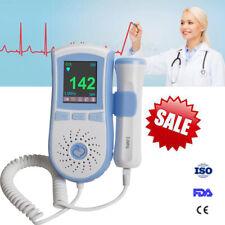 Usps Pocket Prenatal Fetal Doppler Baby Heart Beat Monitor Pregnancy 3Mhz Probe