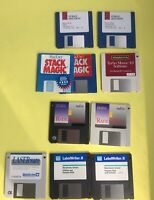 Genuine Mixed Mac Lot Vintage 80's 90's Mac user Original Software Floppy Disks
