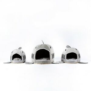 1  Shark  Cat House Pet Soft Bed small Dog Cushion bed