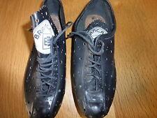Brancale/SABA Cuir Rétro Chaussures pour le cyclisme avec perforé dessus nos