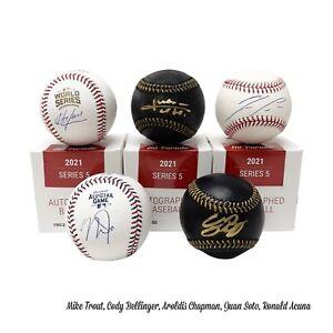 CHICAGO CUBS HitParade Autographed Baseball S5 - Live Break 1box