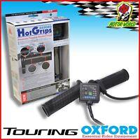 Oxford Premium Touring Manopole Riscaldate Moto Riscaldato Manubrio Invernali