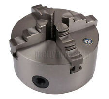 Dia. 125mm 4-Jaw Self-Centering Lathe Chuck For Wood 4th Axis CNC Rotary Table