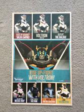 NYCC 2017 New York Comic Con Voltron Legendary Defender Poster