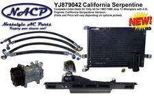 1987-1990 Jeep Wrangler YJ AC Kit 4.2L Engine California Serpentine Setup