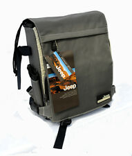 New JEEP Backpack Small Case/Bag - Wind (Grey/White/Beige)