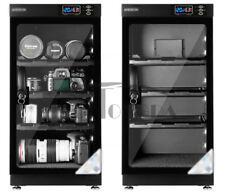 50L Lcd Digital Dehumidify Dry Cabinet Box 3 Shelf Camera Lens Storage 220V/110V