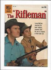 "THE RIFLEMAN #5 [1960 FN+] PHOTO COVER!  ""GHOST TOWN RAID"""