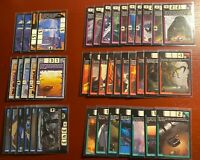 Acceleracers Cards 40 Card Deck! All NM to Mint, 2 Mystery Bonus Realms!