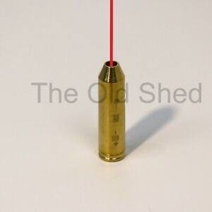 Bore Sighter .308 Cal Hunting Cartridge Red Dot Laser Sight Boresighter