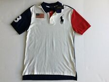 9630-1 Polo Ralph Lauren Boys Kids Big Pony Cotton Jersey Tee Boysenberr M10-12