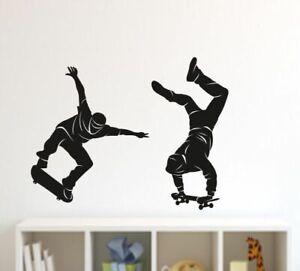 Wandtattoo Skateboard Gunstig Kaufen Ebay