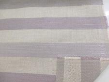 "Beige & Mauve ""Belgian Soft Twill stripe Mauve"" Heavy Upholstery Fabric. By NEXT"