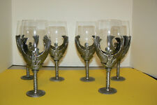 6 Myths & Legends Egyptian Goddess Goblets Veronese EUC