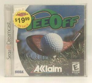 Tee Off (Sega Dreamcast Golf) Brand New, Factory Sealed NIB