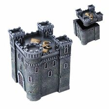 Medieval Castle Fortress Le Fleur  Tower Keepsake Jewelry Box Figurine