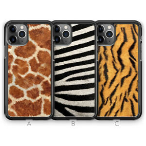 Tiger Zebra Giraffe Print Phone Case for iPhone 13 Pro Max 12 11 SE XR XS X 8 7