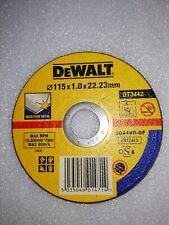 DeWalt Inox/Thin Metal Cutting Disc 115 x 1.0 x 22.2mm X1