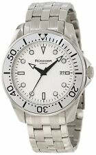 Rudiger Men's R2000-04-001.1 Chemnitz Steel Silver Luminous Dial Watch