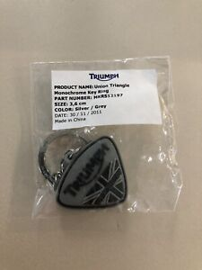 Triumph Union Triangle Monochrome Key Ring MKRS12197 FREE SHIPPING