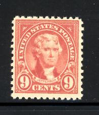Scott #561 1923 9 Cent Jefferson Regular Issue Mnh Og F-Vf Cat $16!