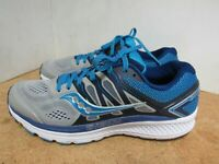 WOMENS SAUCONY EVERUN OMNI 16 BLUE GRAY WHITE RUNNING SHOES SIZE 10.5M Y779