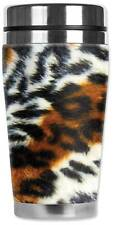 Leopard Animal Print Travel Mug  Water Proof Insulated Cup Mugzie Brand