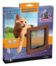Karlie - Katzenklappe 2-way Mechanisch Katze x19.2cmx20cm braun