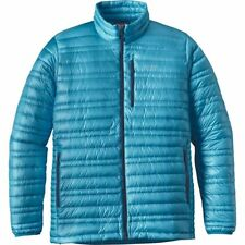 Patagonia Ultralight Down Jacket - Men's M Grecian Blue 800 Fill