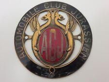 Vintage Automobile Club Jurassien Car Club Badge Emblem