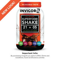 INVIGOR8 - Superfood Shake - Triple Chocolate Brownie - OFFICIAL LISTING!
