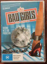 BAD GIRLS: THE MUSICAL ORIGINAL WEST END UK PRODUCTION DVD