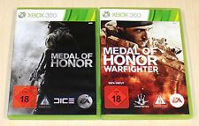 2 GIOCHI XBOX 360 raccolta Medal of Honor & MOH WARFIGHTER-EGO Shooter