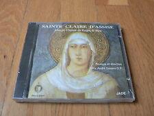 Sainte-Claire d'Assise : Liturgie Chorale du Peuple de DIeu - André Gouzes CD
