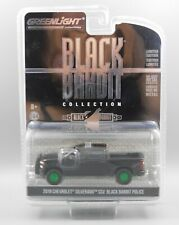 Greenlight 2019 Chevrolet Silverado SSV Black Bandit Police *CHASE* 1:64 Scale