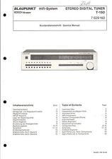 Blaupunkt Originale Service Manual per t-150
